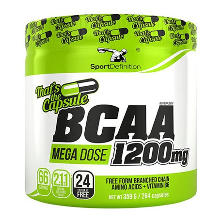 SPORT DEFINITION BCAA 1200MG 264 CAPS
