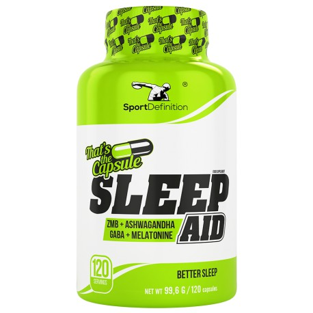 SPORT DEFINITION SLEEP AID 120 KAPS