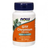 NOW FOODS GTF CHromium 100 tab