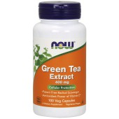 NOW GREEN TEA EXTRACT 400MCG 100VCAPS