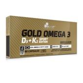 OLIMP GOLD OMEGA 3 D3+ K2 SPORT EDITION 60 KAPS