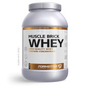 FORMOTIVA MUSCLE BRICK WHEY STRAWBERRY  2100G