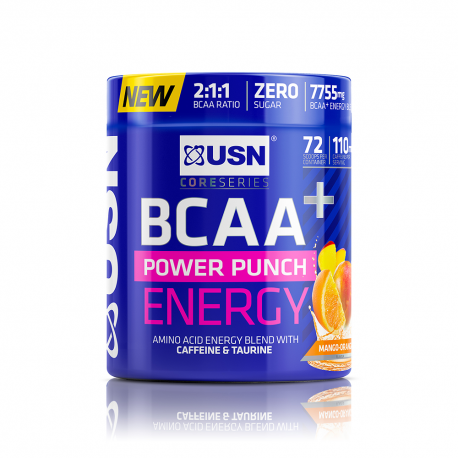 USN BCAA POWER PUNCH ENERGY ORANGE MANGO