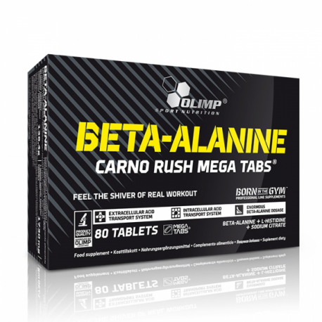 OLIMP Beta-Alanine Carno Rush Mega Tabs 80tablets