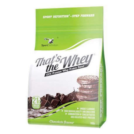 SPORT DEFINITION THATS THE WAY 700G CHOCOLATE