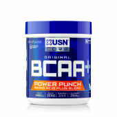 USN BCAA POWER PUNCH 400G BLUE RASPBERRY